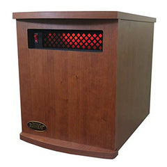 Original SUNHEAT USA1500 5 Year Warranty Infrared Heater-Fully Made in the USA- Cherry