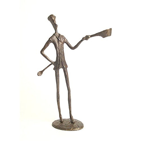 Danya B. Chef Bronze Sculpture