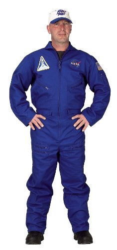 Adult Flight Suit w/Embroidered Cap, size Adult Large