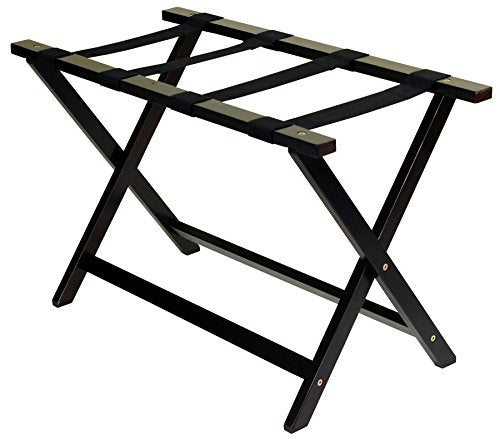 Heavy Duty 30 Extra Wide Luggage Rack-Espresso
