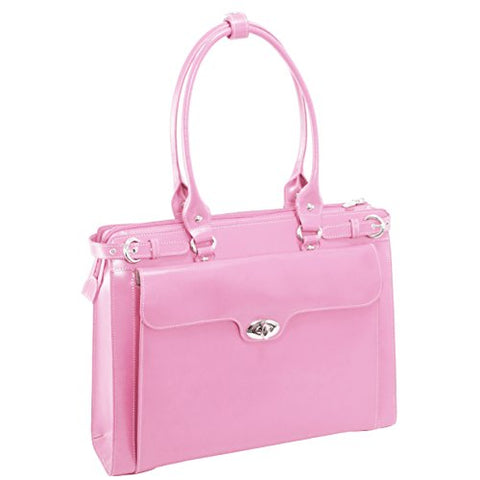 15 Leather Ladies Laptop Briefcase
