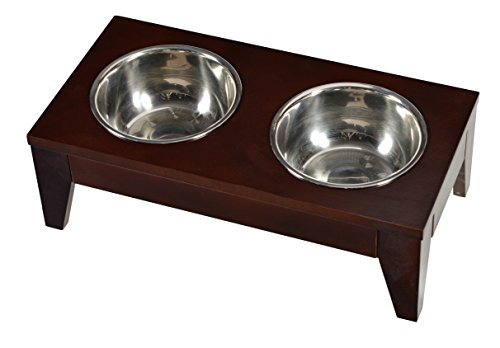 Raised Pet Feeder` Small