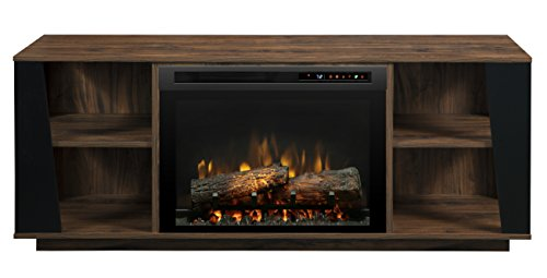 Dimplex Arlo Media Console Electric Fireplace With Logs