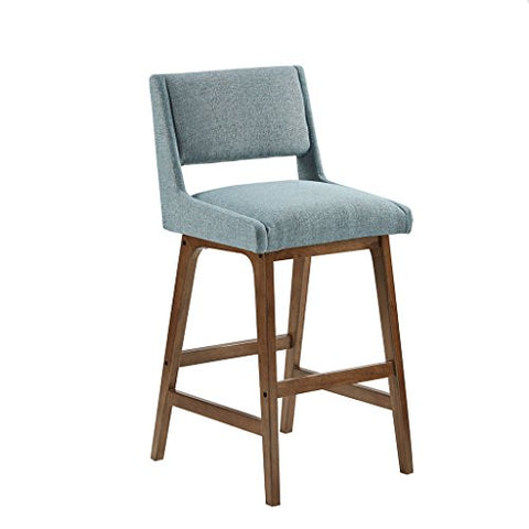 "Barstool1 Barstool:19.25""W x 21.5""D x 42.25""H Seat dimension:19.25""W x 16""D x 31""H Leg size:21.75""D x 26.5""H x 1""T Distance between legs(Front to Back):11.25"" Distance between legs(Side to Side):14.75"" Back rest:17 ""W x 11.25""HBlueIIF20-0042"