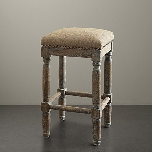 Stool (Set of 2)2 Stools:14W x 14D x 26H (2)Floor to Seat Height:26HSandFPF18-0187