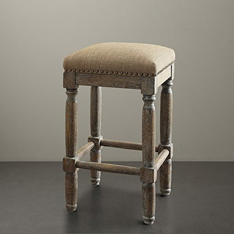 "Stool (Set of 2)2 Stools:14""W x 14""D x 26""H (2) Floor to Seat Height:26""HSandFPF18-0187"