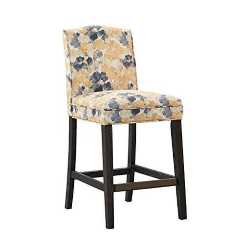 "Counter Stool1 Counter Stool:19.5Wx22.5Dx40.25H"" Item Weight /LB:17.60 Weight Capacity:250lbs Floor to Seat Height:19.00""YellowFPF20-0396"