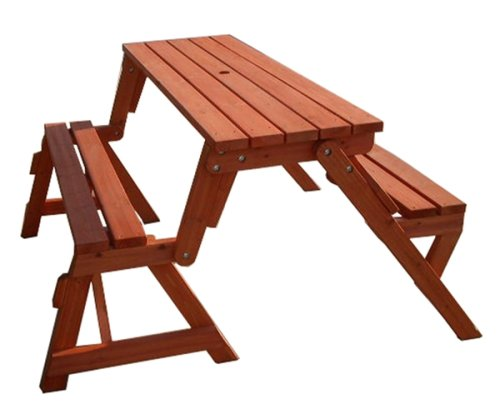 Interchangeable Picnic Table / Garden Bench