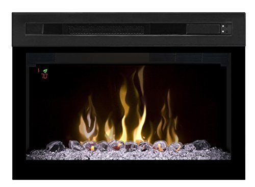 "DIMPLEX 25"" MULTI-FIRE XD FIREBOX WITH GLASS"