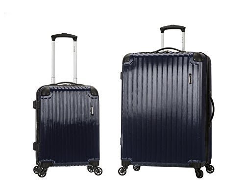 "SANTORINI 20"", 28"" 2PC EXPANDABLE POLYCARBONATE SPINNER SET"