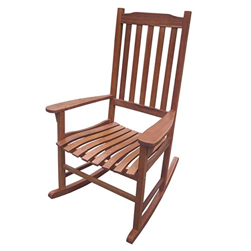 Traditional Rocking Chair` Natural Stain