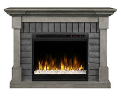 Dimplex Royce Electric Fireplace Mantel With Glass Ember Bed