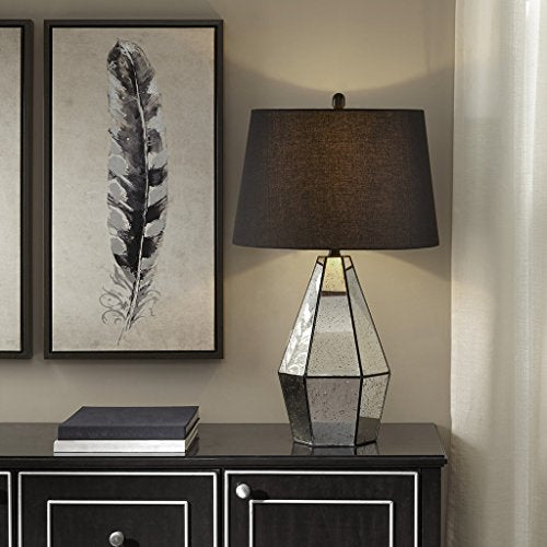 Table Lamp1 Table Lamp:17.75L x 17.75W x 30HBase Size:7.125L x 6.2 W x 21HShade Size:15D x 18D x 11.5HCord Length:72MirrorMP153-0157