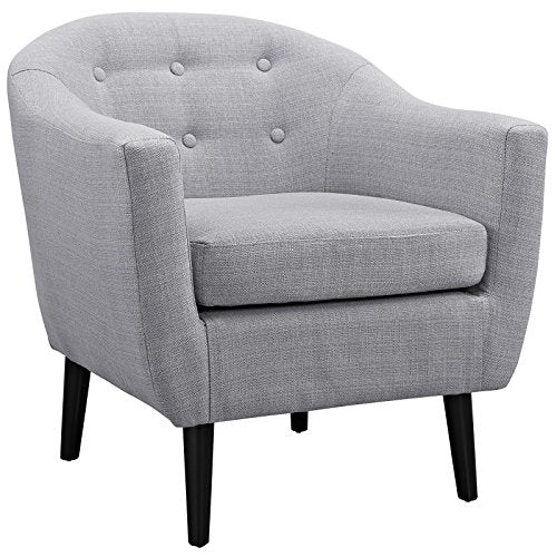 Wit Upholstered Fabric Armchair