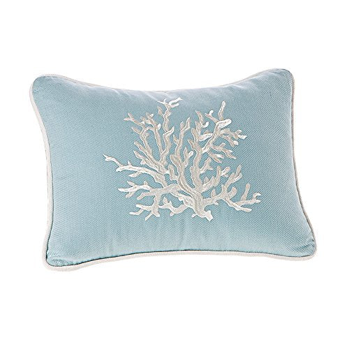 "Oblong Pillow1 Dec pillow:12x16""BlueHH30-402A"