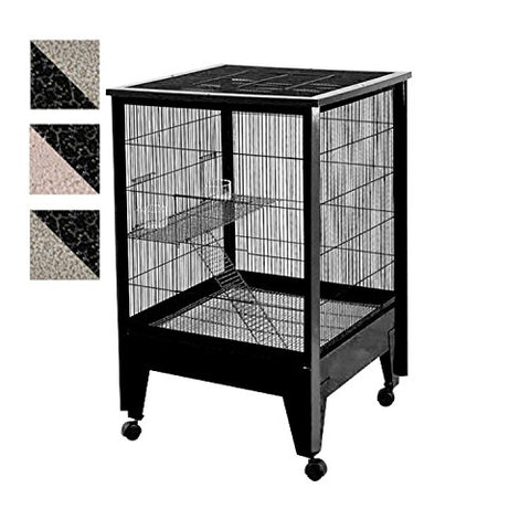 Medium - 2 Level Small Animal Cage - on Casters