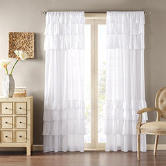 "Window Curtain1 Window Panel:50x84""WhiteWIN40-140"