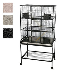 "32""x22"" - 3 Level Animal Cage with Removable Base"