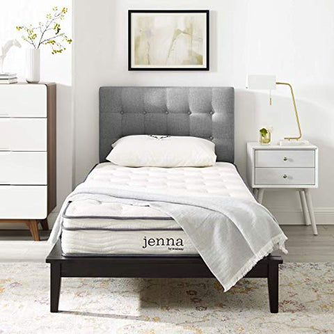 Jenna 8 King Innerspring Mattress - White
