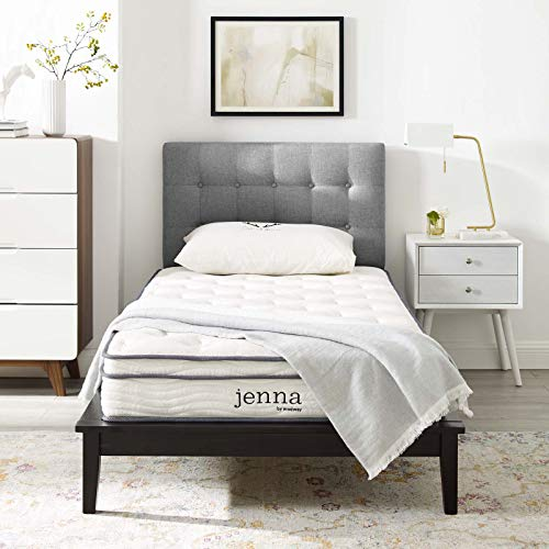 Jenna 8 Full Innerspring Mattress - White