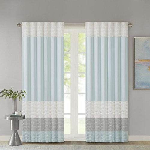 Polyoni Pintuck Window Curtain1 Window panel:50x84