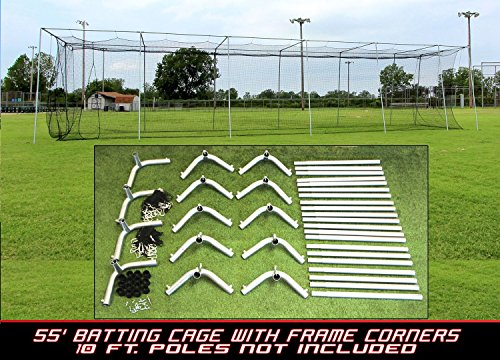 Cimarron 55x12x12 24 Batting Cage & Frame Corners (4 Boxes)