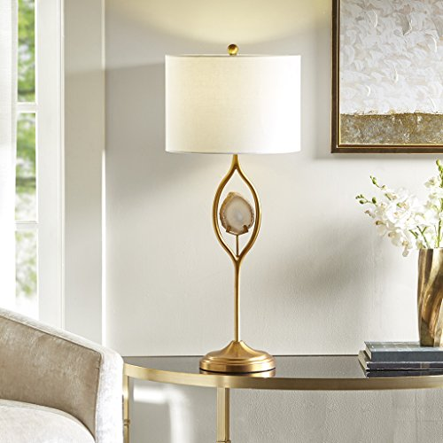 Table Lamp1 Table Lamp:14L x 14W x 32HShade Size:14D x 14W x 10HCord Length:84Base Dimensions:7.87D x 7.87W x 26HGoldMP153-0127