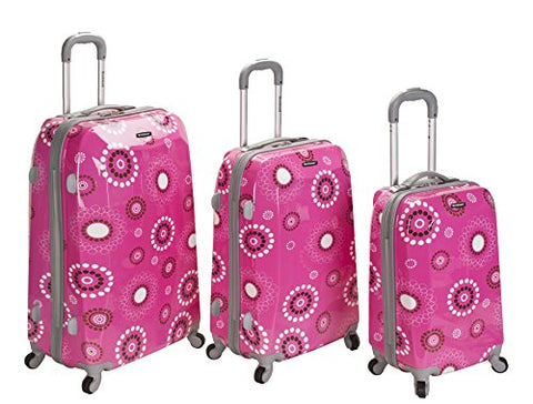 3PC VISION POLYCARBONATE/ABS LUGGAGE SET
