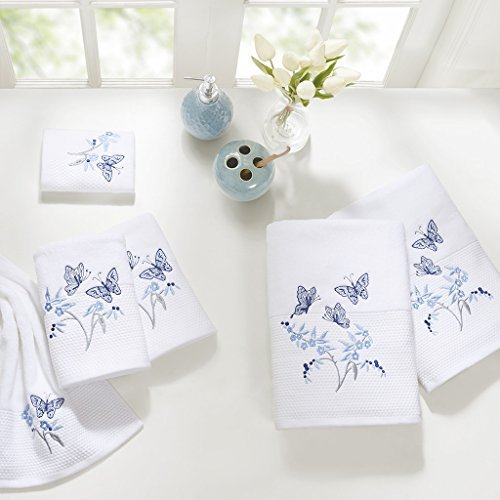 6 Piece Embroidered Towel Set2 Bath Towels:27