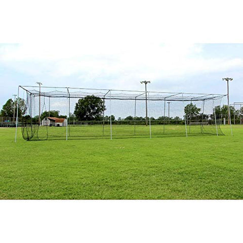 Cimarron 60x12x10 24 Batting Cage & Frame Corners (2 Boxes)