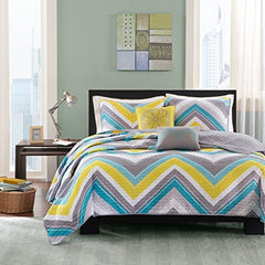 "Coverlet Set1 Coverlet:68x90"" 1 Standard Sham:20x26"" (1) 2 Decorative Pillows:12x16""/16x16""BlueID80-194"