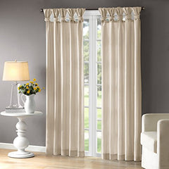 "Window Curtain1 Window Panel:50x95""ChampagneWIN40-120"