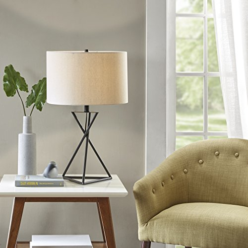 Table Lamp1 Table Lamp:16L x 16W x 26.25HShade Size:16D x 16W x 10HCord Length:72Base Dimensions:9.125L x 9.125W x 21HBlackMP153-0129