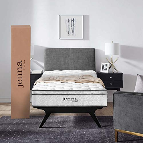 Jenna 8 Twin Innerspring Mattress - White