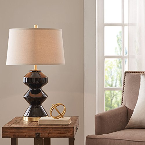 Table Lamp1 Table Lamp:18L x 18W x 29.5HBase Size:Dia7.75 x 20.25HShade Size:16D x 18W x 11HCord Length:72BlackMP153-0153