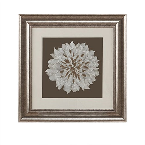 Decorative Embroidery Wall Art Flower1 Wall Art:23W x 23H x 0.9DBrownHH95B-0004