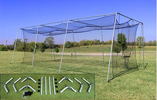 Cimarron 30x12x10 24 Batting Cage & Frame Corners (1 Box)
