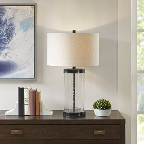 Table Lamp1 Table Lamp:16L x 16W x 27HBase Size:7W x 7D x 20HShade Size:16L x 16W x 10HCord Length:72ClearMP153-0179