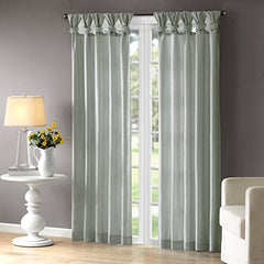 "Window Curtain1 Window Panel:50x95"" (1)Dusty AquaWIN40-121"