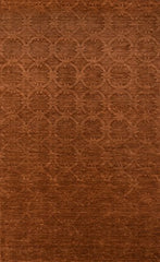 "Momeni Rugs GRAMEGM-13COP3656 Gramercy Collection, 100% Wool Hand Loomed Contemporary Area Rug, 3'6"" x 5'6"", Copper"