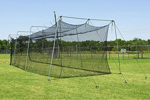 Cimarron 60x12x10 Rookie Batting Cage and Cable Frame (4 Boxes)