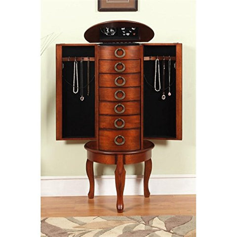 Woodland Cherry Jewelry Armoire