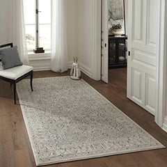 "Momeni Rugs ZIEGLZE-02IVY5376 Ziegler Collection, Traditional Area Rug, 5'3"" x 7'6"", Ivory"