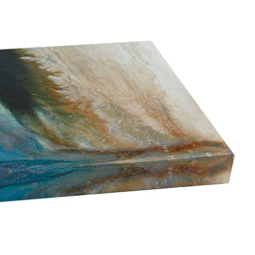 "Gel Coated Canvas-Set of Three1 Canvas:24x32x1.5"" 2 Canvas:12x32x1.5"" (2)BlueII95C-0061"