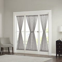 "Diamond Sheer Sidelight Panel1 Sidelight Panel:25x72""GreyMP40-2958"