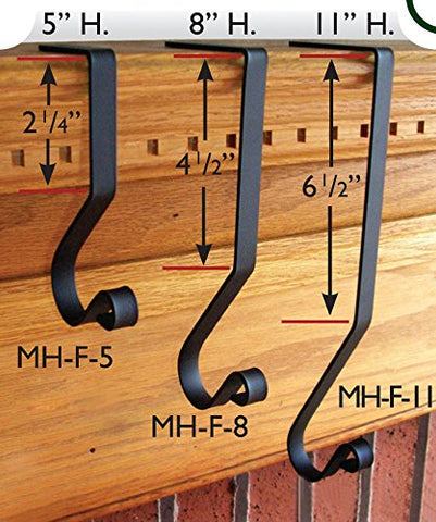 11 In. Mantel Hook