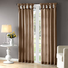 "Window Curtain1 Window Panel:50x95""BronzeWIN40-122"