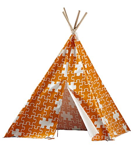 Children's Teepee, Orange Puzzle