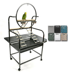 "The ""O"" Parrot Play Stand"