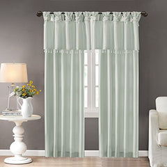 "Window Curtain1 Window Panel:50x84"" (1)Dusty AquaWIN40-117"